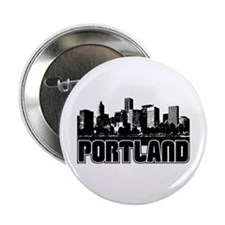 "Portland Skyline 2.25"" Button"