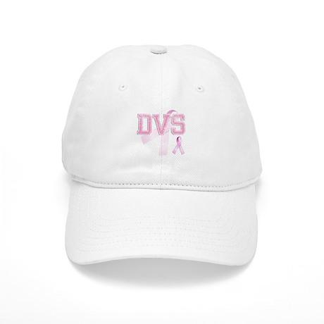 DVS initials, Pink Ribbon, Cap