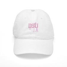 DSU initials, Pink Ribbon, Baseball Cap