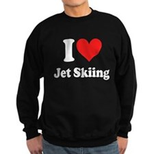 I Heart Jet Skiing Sweatshirt