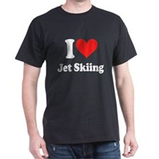 I Heart Jet Skiing T-Shirt