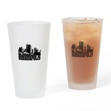 Indianapolis Skyline Drinking Glass