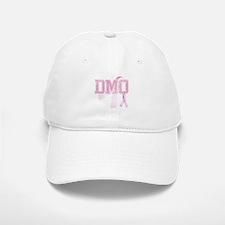 DMQ initials, Pink Ribbon, Baseball Baseball Cap