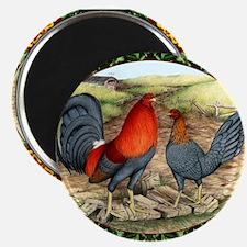 "Beautiful Game Fowl 2.25"" Magnet (10 pack)"