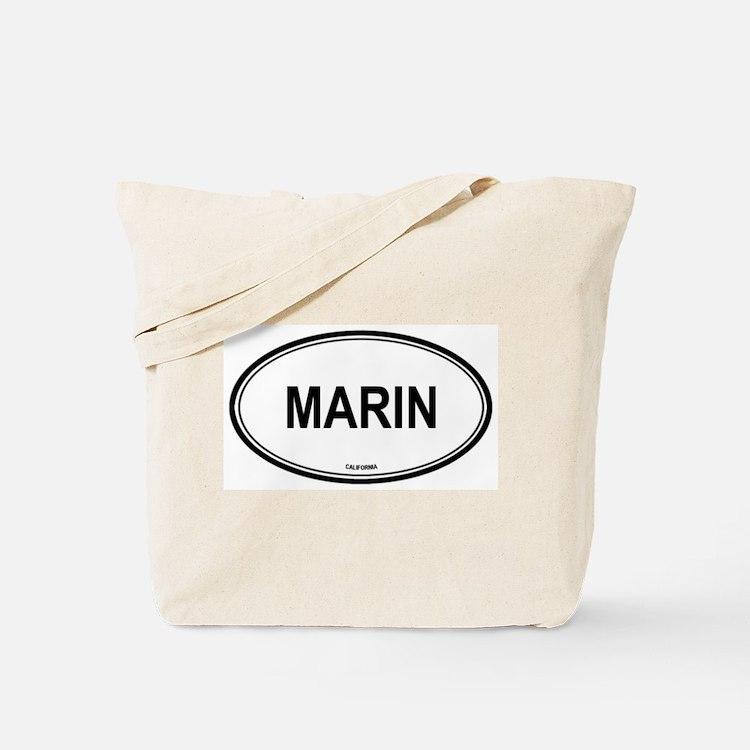 Marin oval Tote Bag