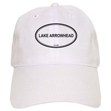 Lake Arrowhead oval Baseball Cap