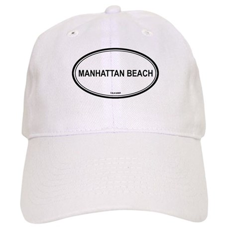 Manhattan Beach oval Cap