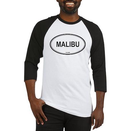 Malibu oval Baseball Jersey