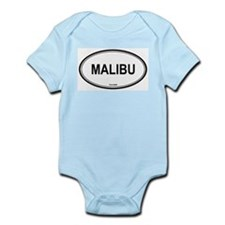 Malibu oval Infant Creeper