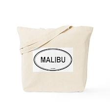 Malibu oval Tote Bag