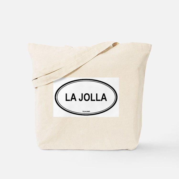 La Jolla oval Tote Bag