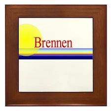 Brennen Framed Tile