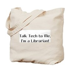 Talk Tech 2 Tote Bag