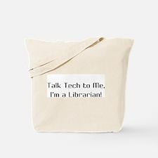 Talk Tech 2 Tote Bag