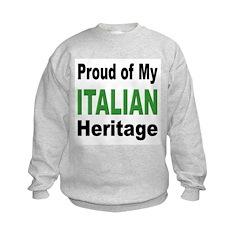 Proud Italian Heritage Sweatshirt