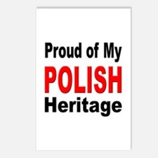 Proud Polish Heritage Postcards (Package of 8)