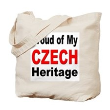 Proud Czech Heritage Tote Bag