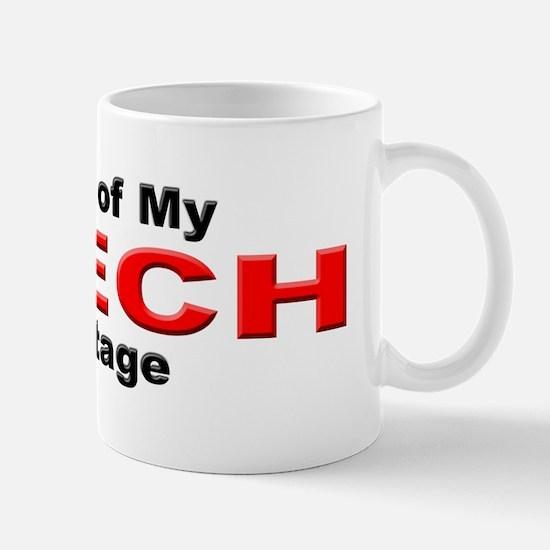 Proud Czech Heritage Mug