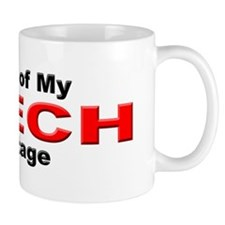 Proud Czech Heritage Small Mug