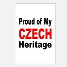 Proud Czech Heritage Postcards (Package of 8)