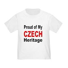 Proud Czech Heritage (Front) T