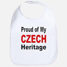 Proud Czech Heritage Bib