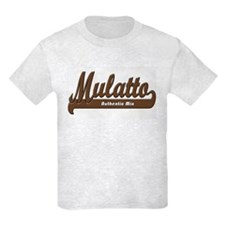 """Mulatto - Authentic Mix"" Kids Light Tee"