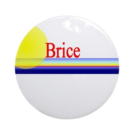 Brice Ornament (Round)