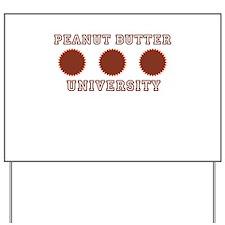 Stupid College Shirts Yard Sign