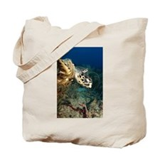 'Flying Turtle' Tote Bag