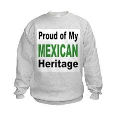 Proud Mexican Heritage (Front) Sweatshirt