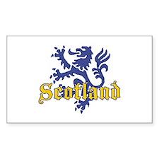 Scotland Lion Rectangle Decal