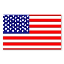 USA American Flag Decal