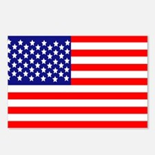 USA American Flag Postcards (Package of 8)