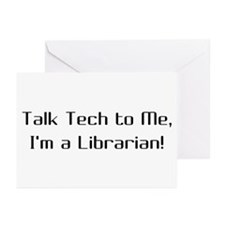 Talk Tech 2 Greeting Cards (Pk of 10)