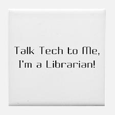 Talk Tech 2 Tile Coaster