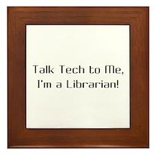 Talk Tech 2 Framed Tile