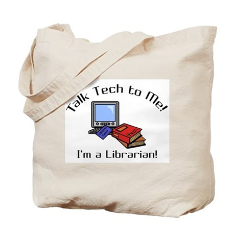 Talk Tech Tote Bag