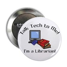 """Talk Tech 2.25"""" Button"""