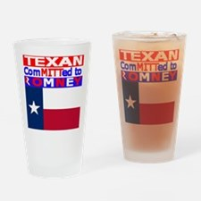 texasromneyflag.png Drinking Glass