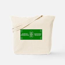 $1 = 1 Vote Tote Bag