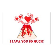 I Lava You Postcards (Package of 8)