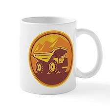 Mining Dump Truck Retro Mug