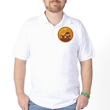 Mining Dump Truck Retro T-Shirt