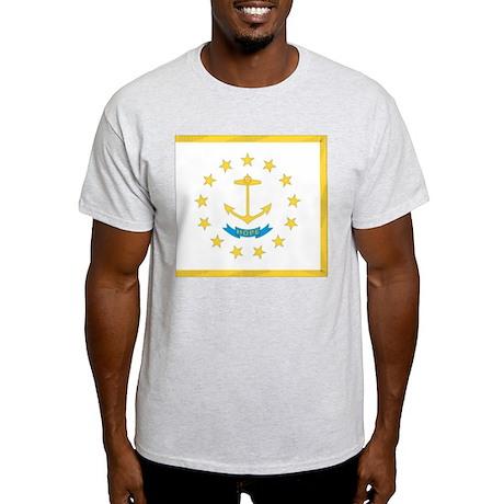 Rhode Island State Flag Light T-Shirt