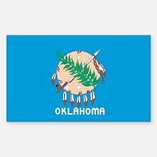 Oklahoma State Flag Decal