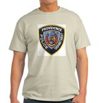 Providence Mounted Police Ash Grey T-Shirt