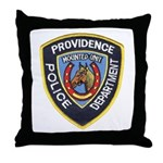 Providence Mounted Police Throw Pillow