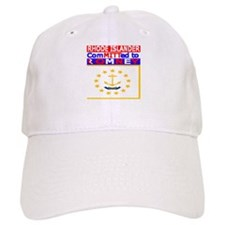 rhodeislandromneyflag.png Baseball Cap