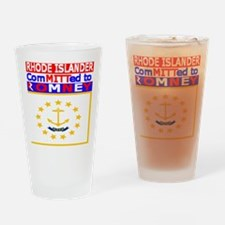 rhodeislandromneyflag.png Drinking Glass